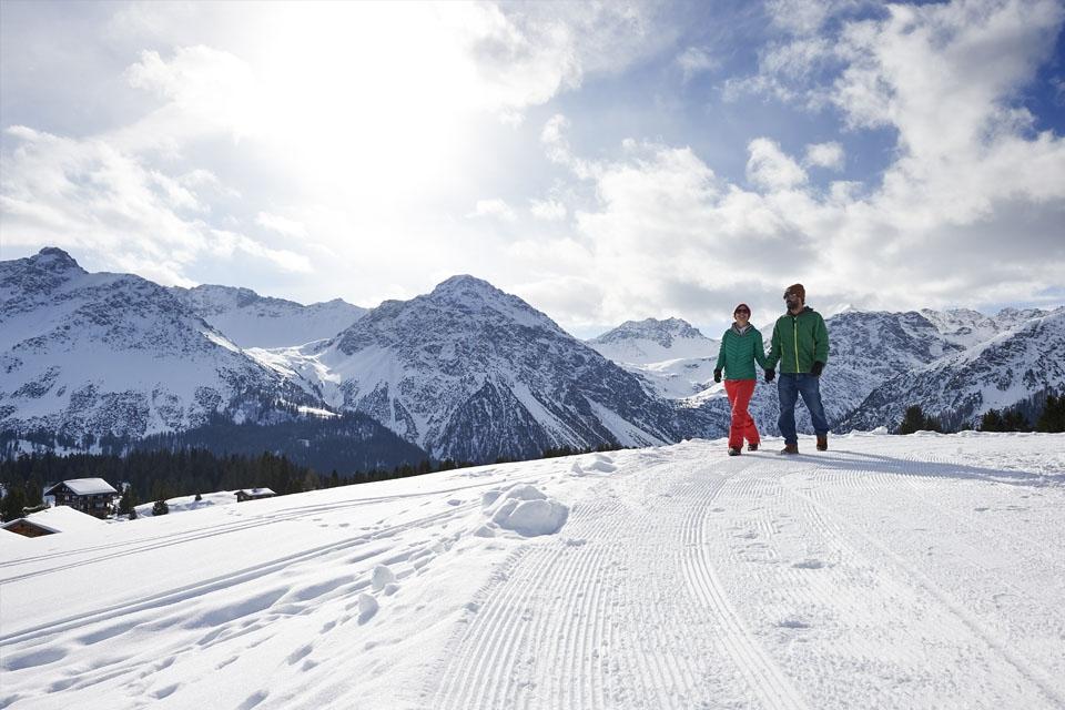 Arosa - Winterwandern Prätschli-Maran ©Arosa Tourismus Nina Mattli