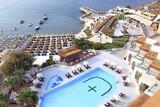 Alacati - Design Plus Seya Beach, Überblick Pool und Strand