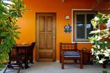 Bonaire - Tropical Inn, Hotelzimmer Terrasse