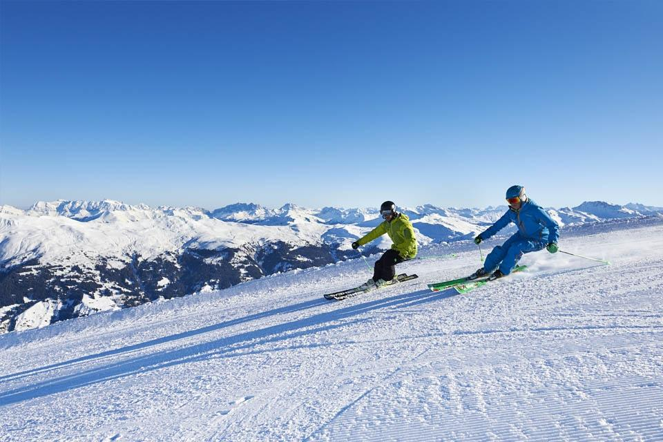 Arosa - Ski Alpin Weißhorn ©Arosa Tourismus Nina Mattli