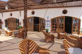 El Naaba Extra Divers Tauchbasis Terrasse