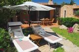Porto Pollo - Il Borgo, Terrasse mit Garten Beispiel Typ C