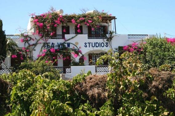 Karpathos - Sea View Studio, Aussenansicht vorne