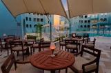 El Gouna, Hotel Fanadir, The Sail Restaurant Aussenbereich