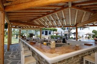Naxos - Alkyoni Beach Hotel, Poolbar