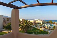 Karpathos - Irini Beach, Blick vom Balkon