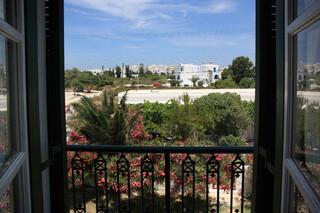 Naxos - Tasoula Appartements, Aussicht auf Naxos Stadt