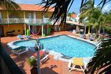 Curacao - Rancho el Sobrino, Poolanlage