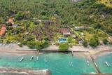 Bali - Puri Bagus Candidasa, Aerial Blick