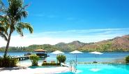 Busuanga - El RioY Mar, Pool mit Blick