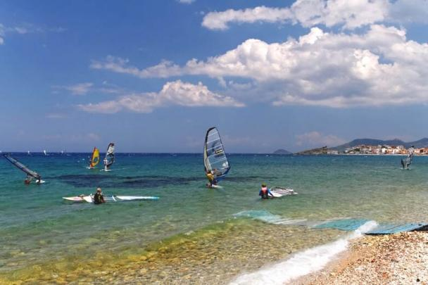 Samos - Kokkari, Beachstart