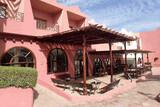 Dahab - Tropitel Dahab Oasis - Aussenterrasse des Restaurants