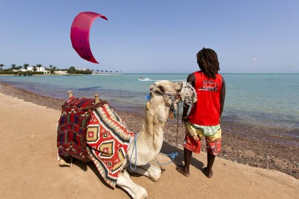 Aegypten - Kiten in El Gouna bei Kite-People