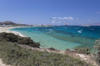 Naxos Mikri Viglia Surf und Kite Revier