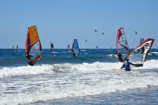 Teneriffa El Medano - Surf Center Playa Sur, Revier