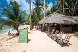 Nicaragua - Little Corn Island - Beach and Bungalow - Sonnenliegen
