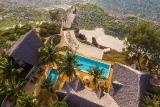 Zanzibar - Sunshine Marine Lodge, Aerial View