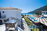 Lefkada, Surf Hotel, Zimmer mit Pool-und Meerblick, Balkon