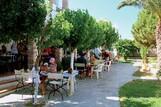 Naxos - Naxos Beach I , Frühstücksterrasse