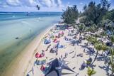 Mauritius Bel Ombre - Strand vor dem KiteGlobing Center