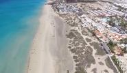 Fuerte Süd - Blick auf das Bahia Calma in Costa Calma
