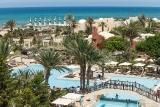 Djerba - Aldiana Atlantide, Pool und Blick Richtung Meer