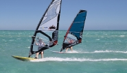 El Gouna - ELEMENT Watersports, Stephan und Katrin beim Reviertest