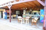 Djerba - Les Dauphins Kitecenter, Snackbar und Sitzgelegenheit