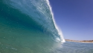 Fuerteventura Nord, Flag Beach, Welle