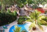 Cabarete, Villa Taina, Garten mit Pool