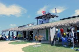 Parajuru - Kiteboarding-Club Ansicht