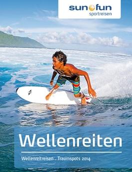 Katalogtitel Wellenreiten sun+fun 2014
