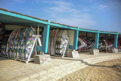 Element Center El Gouna, Surfmaterial