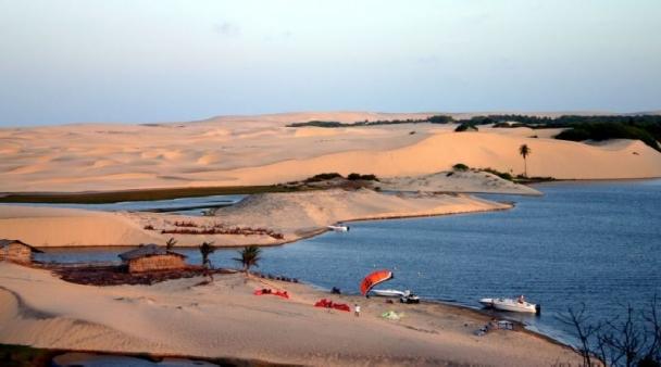 Uruau Pro Kite Brasil Süßwassersee 2010