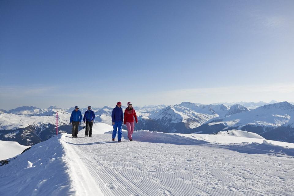 Arosa - Winterwandern Weißhorn ©Arosa Tourismus Nina Mattli