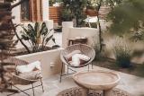 Naxos - Flisvos Studios-App. Farmhouse, Lounge Terrasse
