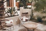 Naxos - Flisvos seaside Studios & Appartements, Farmhouse, Lounge Terrasse