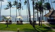 Bali - Kubu Indah Resort, Blick auf Meer