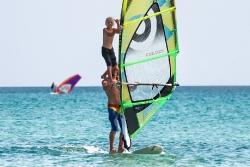 Limnos - Surf Club Keros, Surfen mit Kids