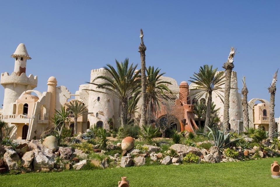 Djerba - ROBINSON Club Djerba Bahiya, Anlage von außen