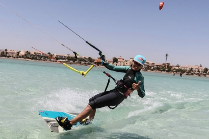 El Gouna, Kite-People, Kite Action