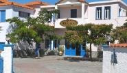 Sigri Lesbos - Orama Hotel, Eingang