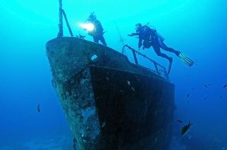 Türkei - MSY Okyanus, Wracktauchen