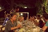 Lo Stagnone - KBC Sizilien, Abendessen in der Villa Vajarassa