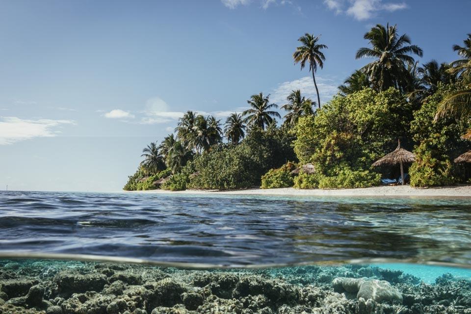 Malediven - ROBINSON Club Maldives, Landschaft