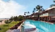 Jericoacoara - Hotel Essenza, Blick Richtung Club Ventos