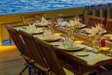 Indonesien Raja Laut Dinner on board