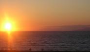 Theologos - Nirvana Beach, Sonnenuntergang