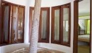Prajuru - Villa Alegre, Palme im Haus