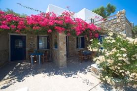 Mykonos - Daktilidis Village, Terrasse